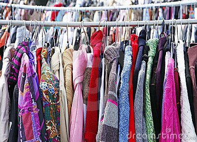 Charity Used Clothes Sale
